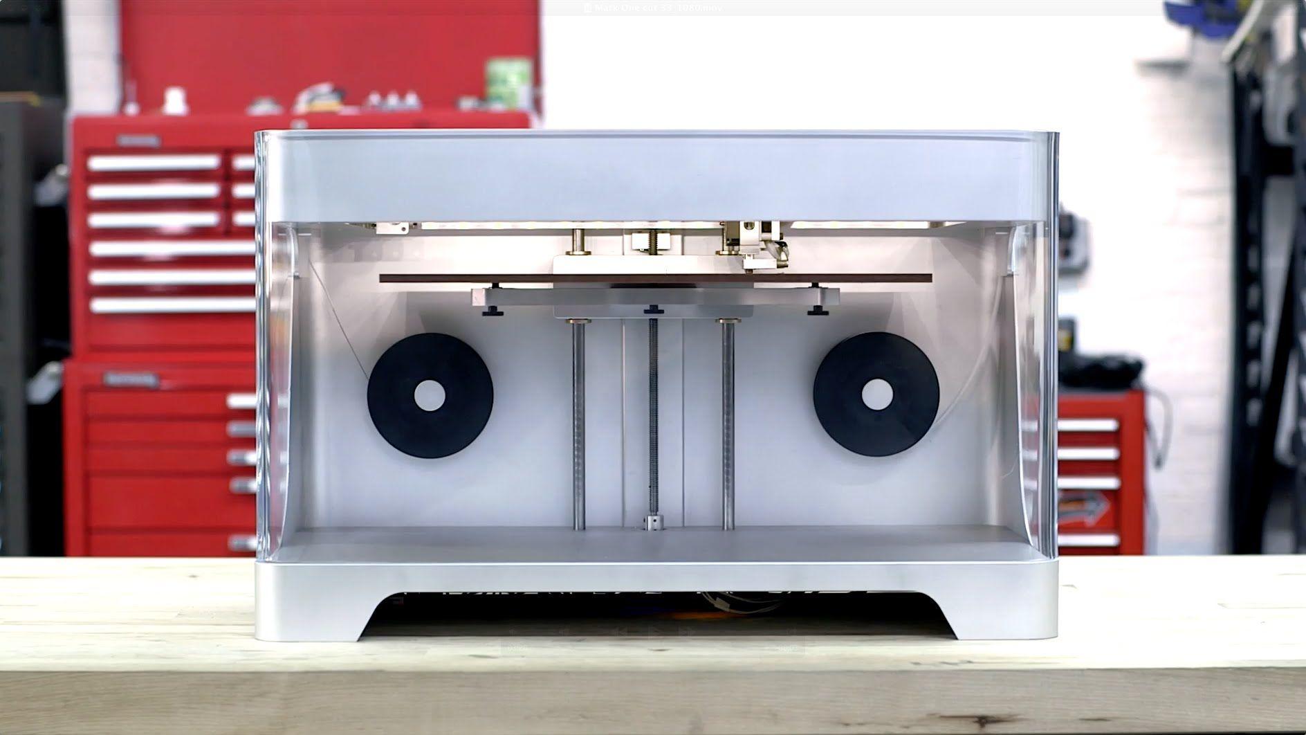 Meet the Mark One the world's first Carbon Fiber 3D