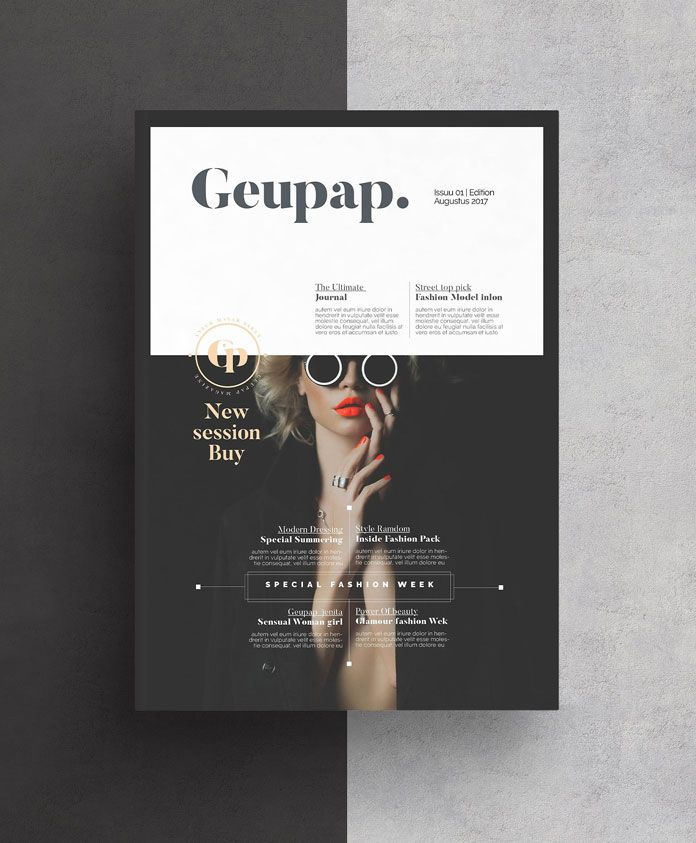 magazine pinterest brochure template magazine covers and brochures