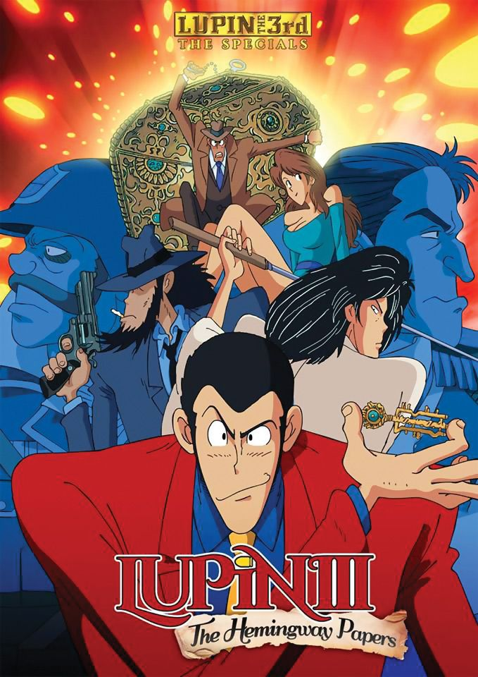 Lupin the 3rd The Hemingway Papers DVD (S) RightStuf2014