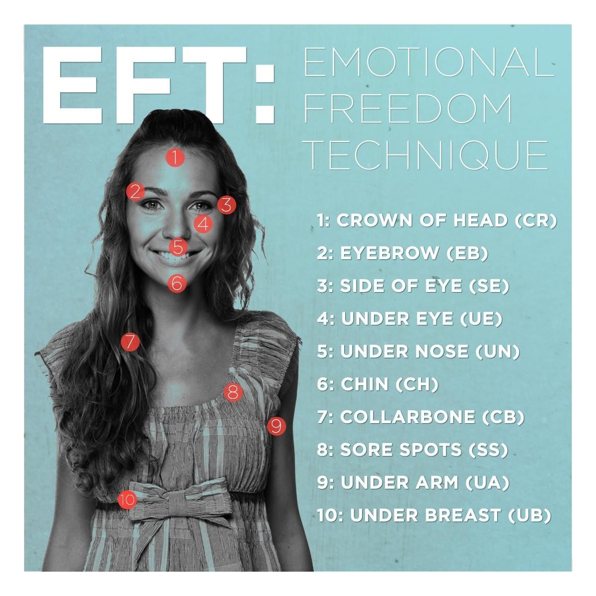 EFT is a form of psychological acupuncture that uses light ...
