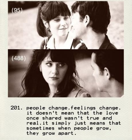 people change feelings change
