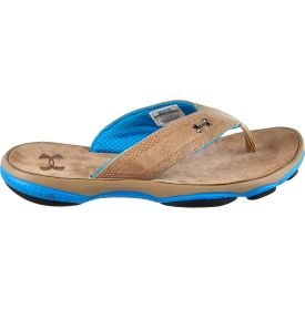 a9f3cee64e646 Keep your casual style in the Under Armour® Men s Toxic Six Leather T flip  flops