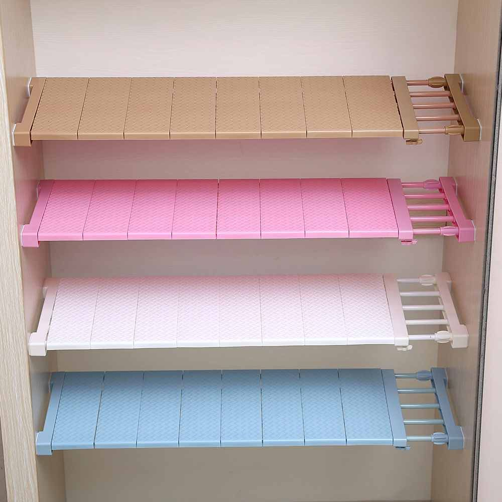 Wardrobe Storage Rack Board Layered Partition Board Kitchen Cabinet ...