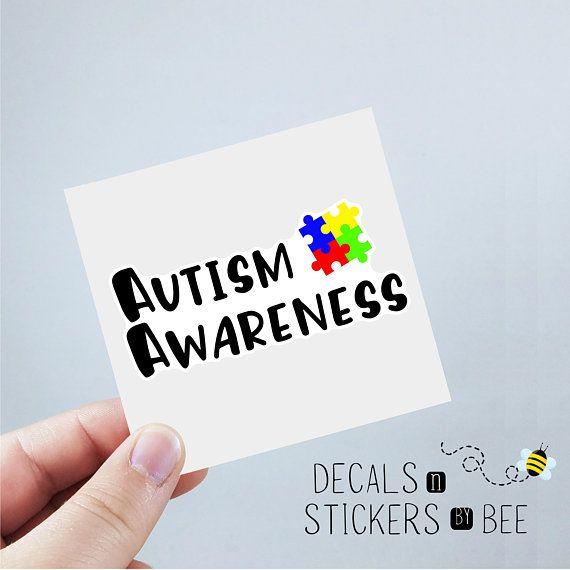Autism Awareness decal, Autism decal, car decal, laptop decal, yeti - resume yeti