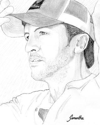 pencil drawing of luke bryan google search