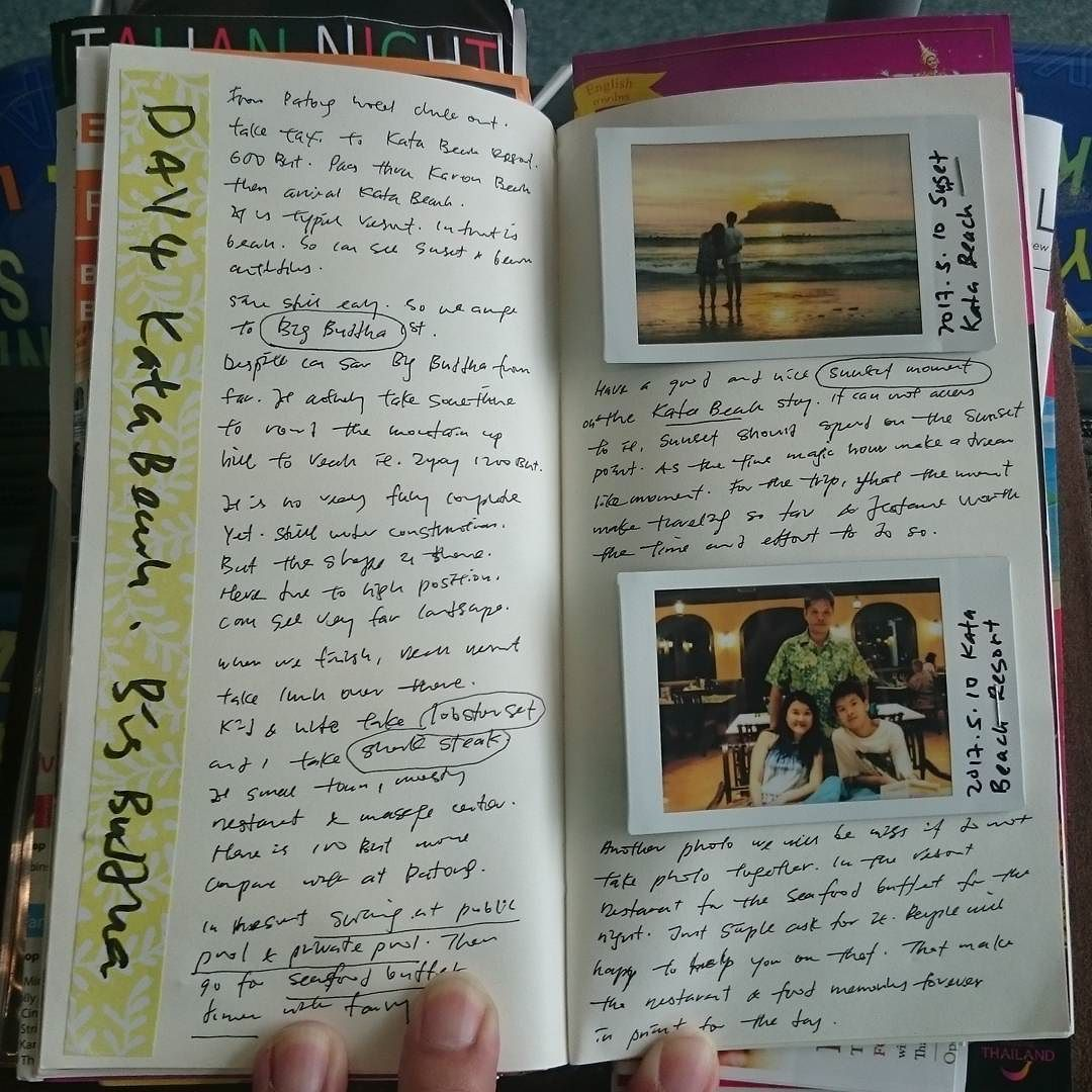 Travel journal day 4 Kata Beach