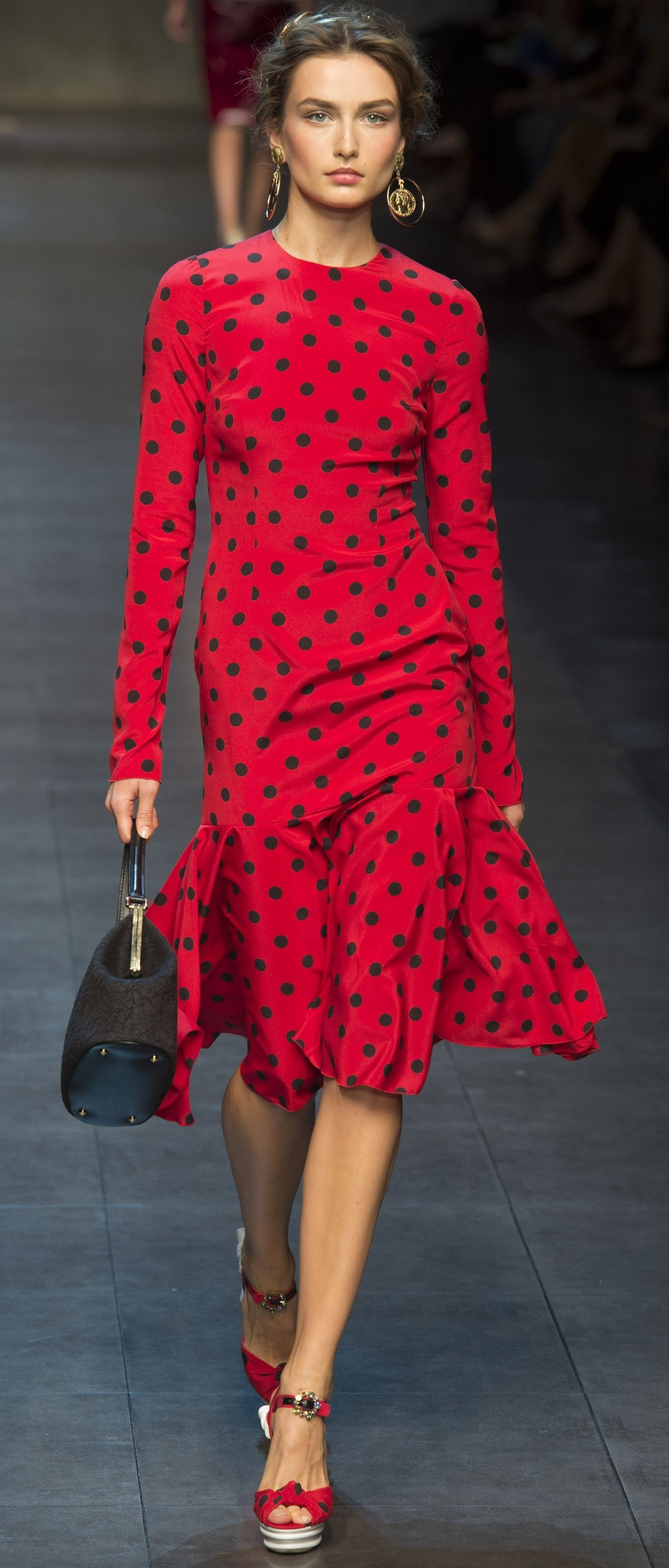 Dolce  Gabbana Spring 2014  -Dress - Haute Couture / Vestido - Alta Costura