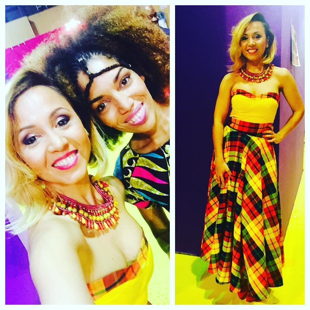 Superbe soirée hier soir pour la Before Kassav à la foire de Paris..merci à la copine @aydenland pour m avoir habillée de sa Creation Glam Ethnik et make up by @laurenlorenzo.k #TinaLy #TraceTropical #FoireDeParis2016 #beforekassav #glamethnik #laurenlorenzo #makeup #fashion #kassav #glam #zouk by tinalymusic