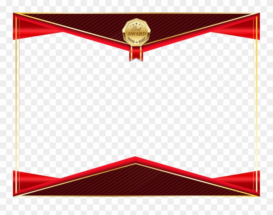 Download Hd Certificate Png Transparent Image Certificate Border With Ribbon Clipart And Use The Free Clipart For Y Certificate Border Free Clip Art Clip Art