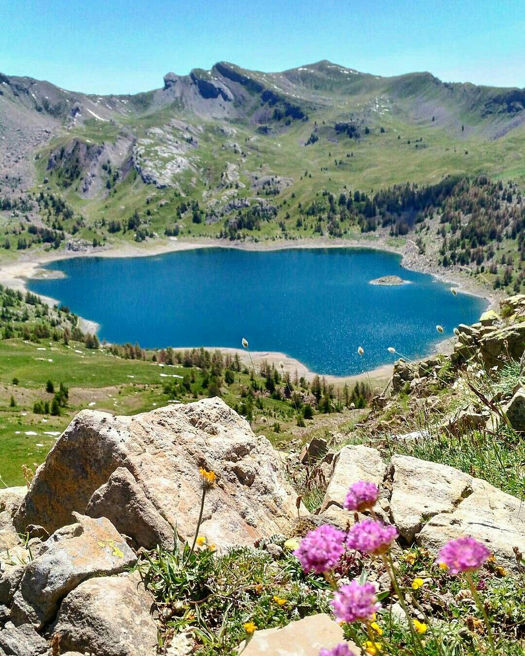 Lac D Allos Photo France Outdoor