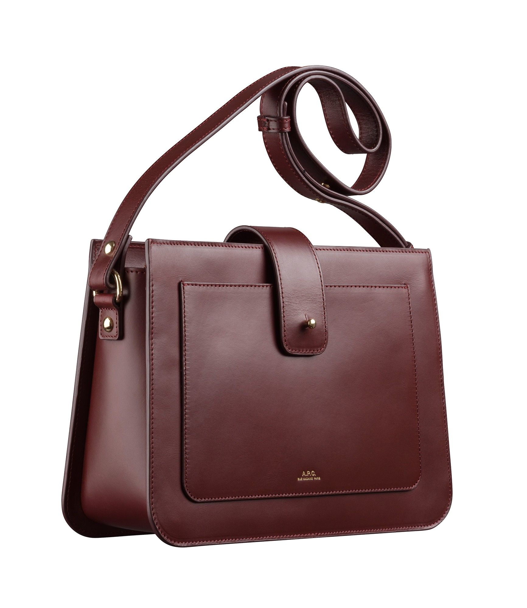 34a346f416 Sac Albane - Women's Bag - Smooth leather - Natural beige - A.P.C.  accessories