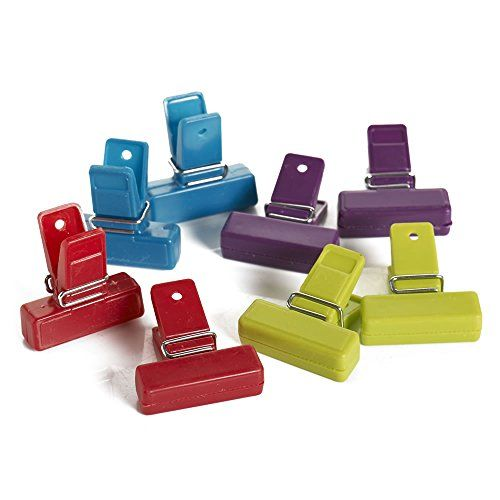 8 Food Storage Bag Clips Freezer Bag Sealing Clips Unknown With Images Food Storage Bags Bag Clips Food Storage