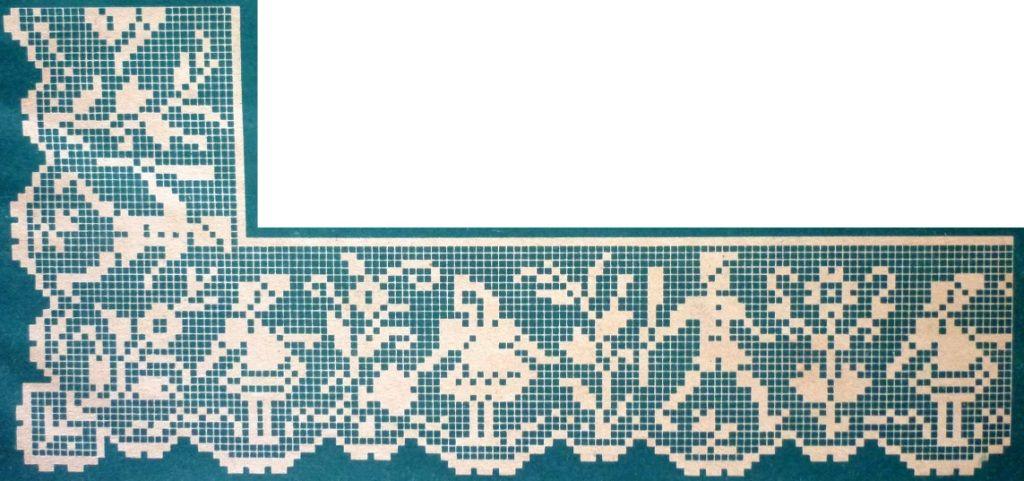crochet em revista: Pontas com canto | cenefas | Pinterest | Cenefas ...