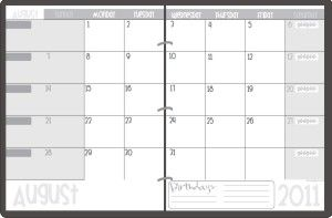 Printable  Teacher Planning Calendar Template  Planning