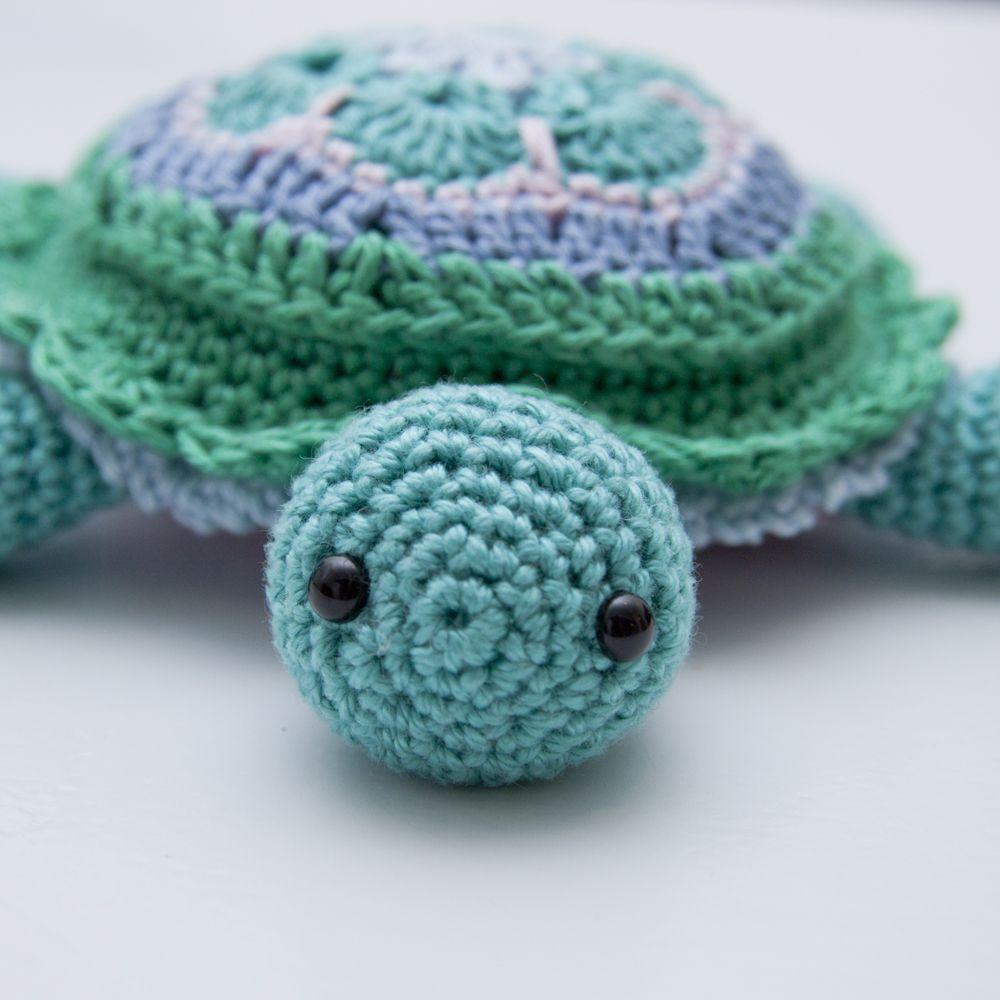 Tina Turtle African Flower Turtle Pincushion Pattern Free