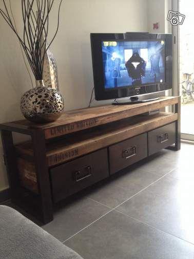 meuble tv industriel ameublement nord