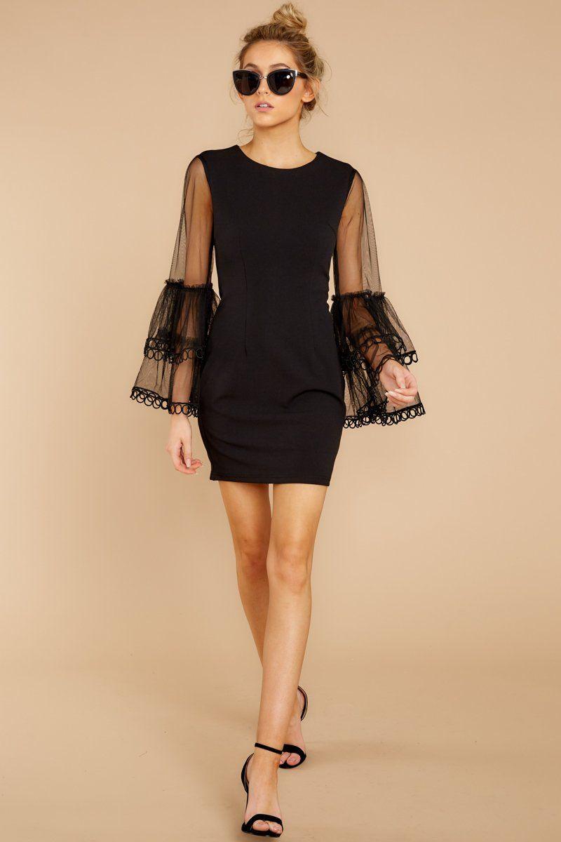 Sleek Black Long Sleeve Dress Fun Little Black Dress Dress 52 Red Dress Boutique Black Dress Little Black Dress Black Long Sleeve Dress [ 1200 x 800 Pixel ]