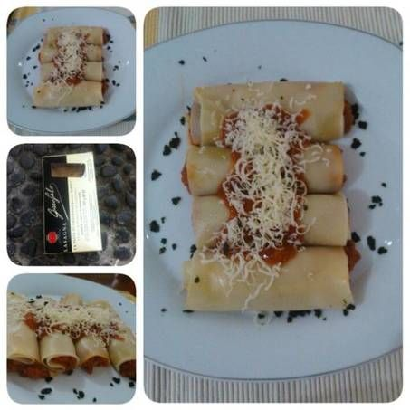 Resep Lasagna Gulung Praktis Oleh Nining Wahyoe Resep Makanan Lasagna Saus