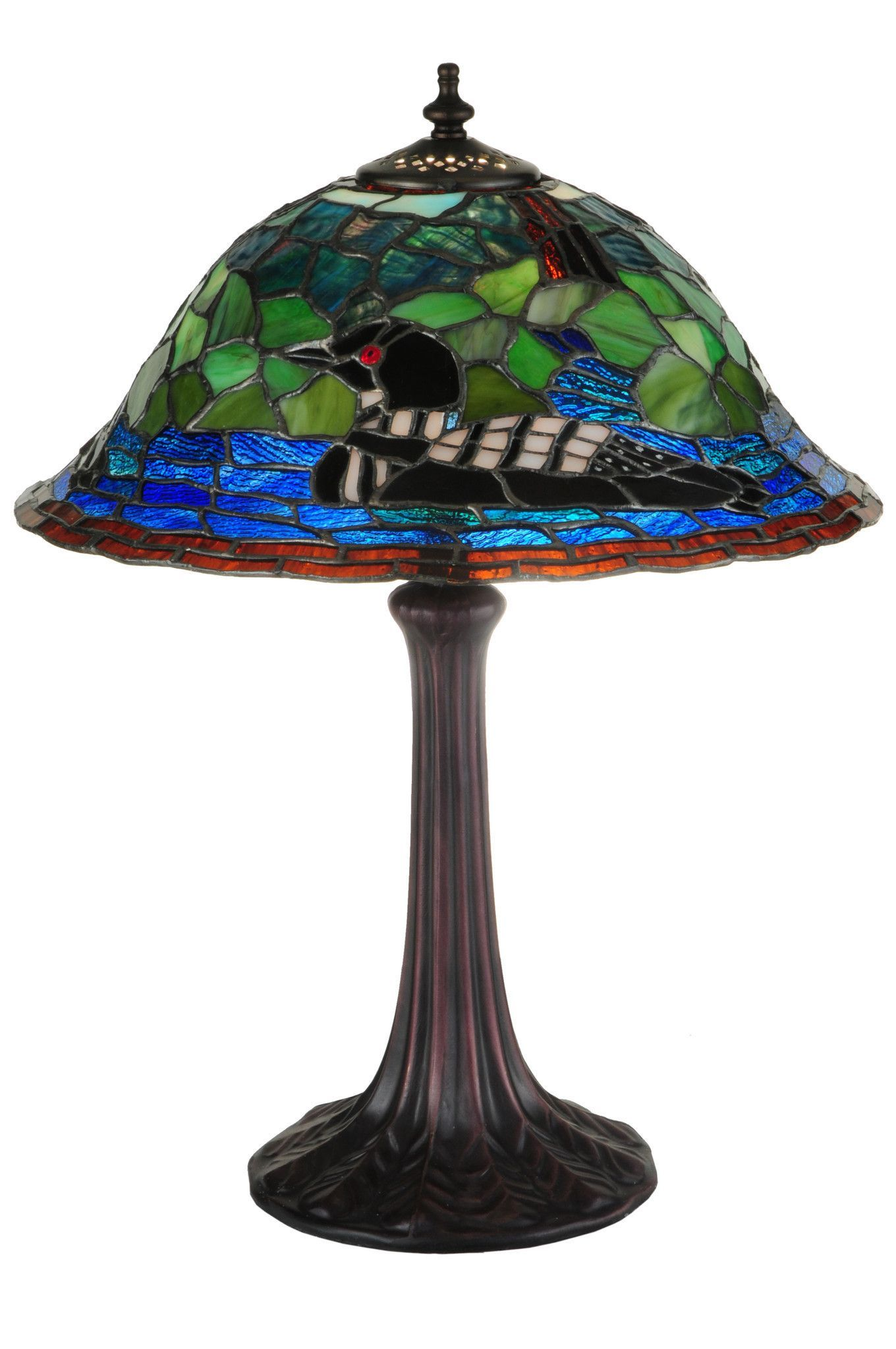 18.75 Inch H Loon Table Lamp