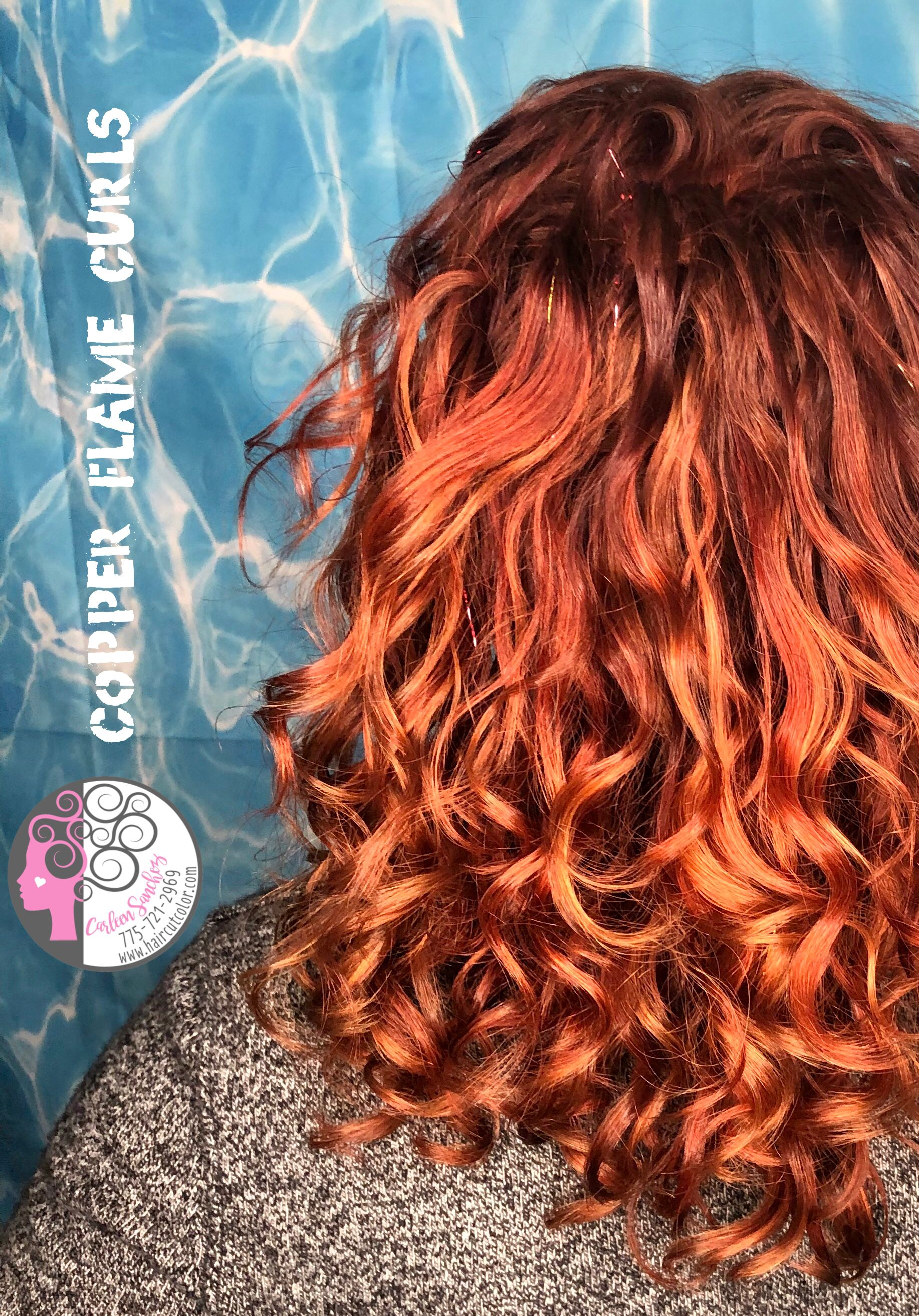 Copper Red Curly Hair Red Curly Hair Curly Hair Styles Haircuts For Curly Hair
