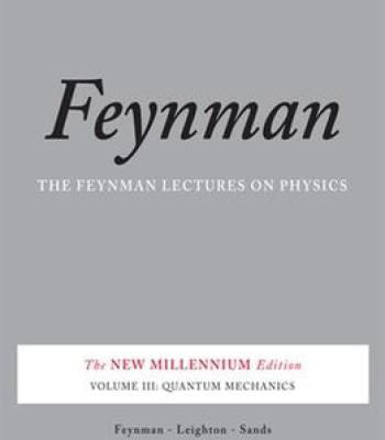 feynman lectures on physics volume 3 pdf free download