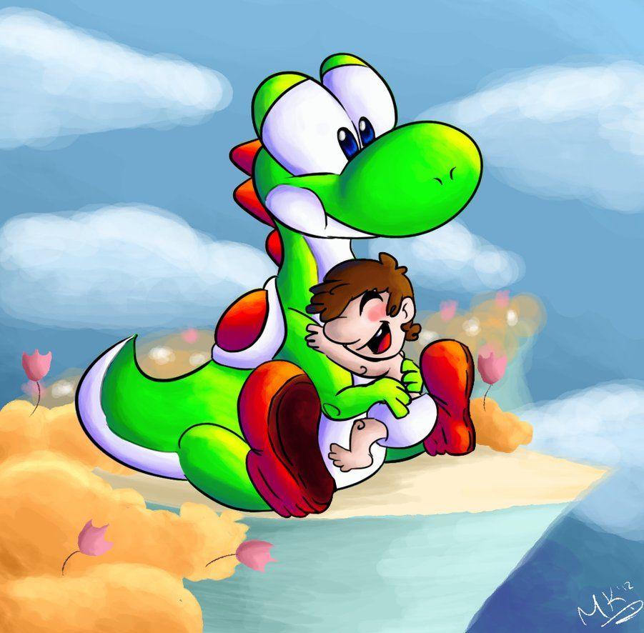 #Super #Mario #Fan #Art. By: Paintghost.     ( An-Old-Tale )