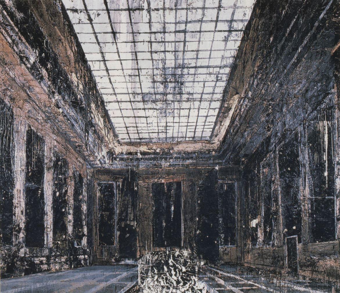 Anselm Kiefer (Donaueschingen, 8 de marzo de 1945) es un pintor y escultor alemán, adscrito al Neoexpresionismo, una de las corrientes del arte postmoderno surgida en los años 80.