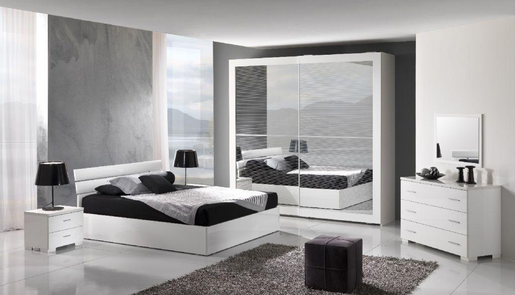 Da farsi con variante di pareti bianche e comodini neri. Ma anche la ...