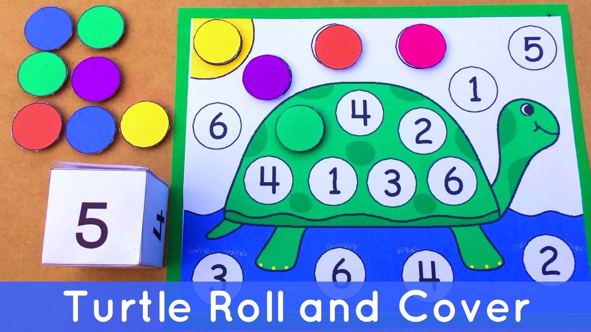 Turtle Math Activities Preschool
