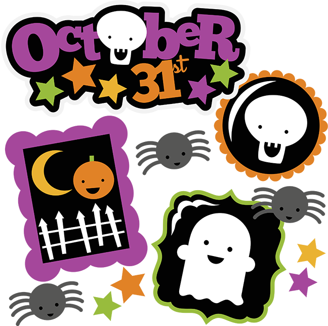 October 31st SVG halloween svg file ghost svg pumpkin svg