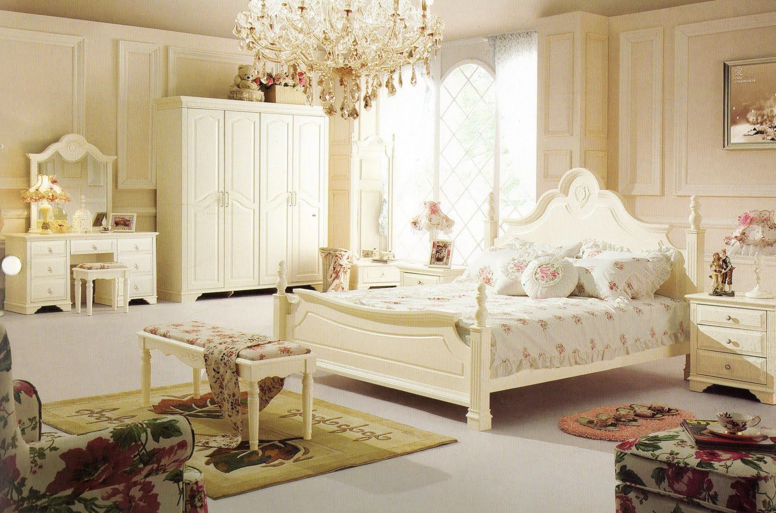 Beautiful bedroom interiors - Beautiful French Bedrooms New Arrival Of Our Beautiful And Elegant French Style