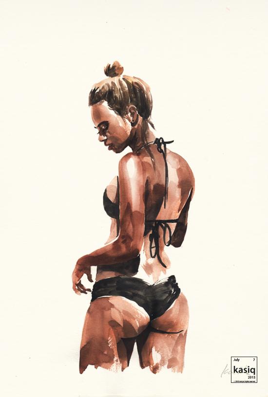 Photo of Fashion Illustration : illustrator