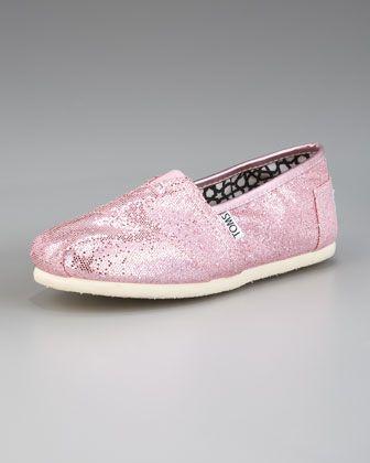 TOMS Classic Glitter Slip-On