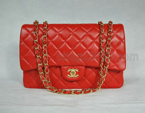 d612d66471adbf Chanel Replica Bags | 28600 Chanel bag Red Sheepskin Gold Chain - Please  Click Picture To View ! Discount Up to 60% at www.forshopperes.com | Price:  $203.62 ...