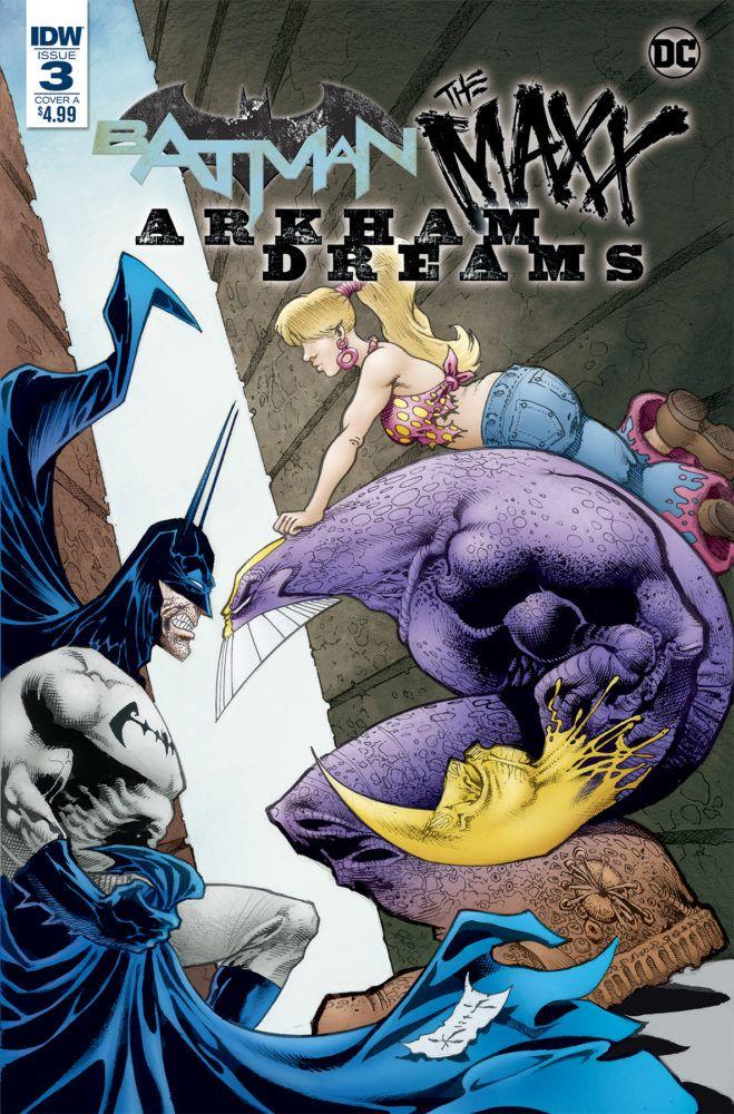 DC//IDW 2018 Batman The Maxx Arkham Dreams #1 Cover A