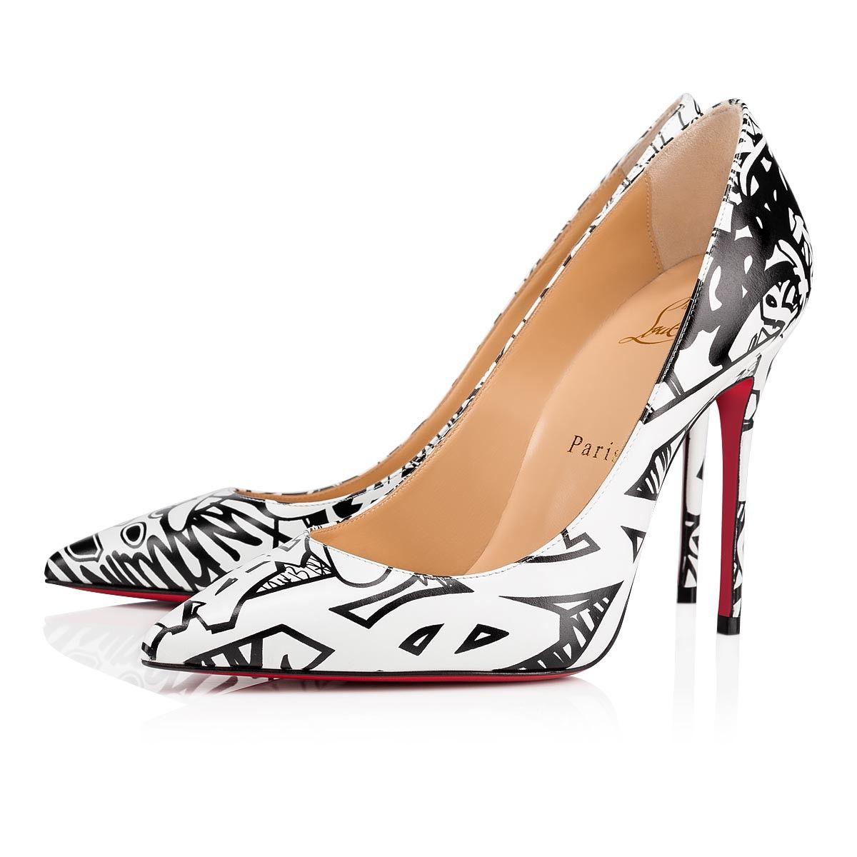 2c7a7d6a308 Decollete 554 100 Black-White Calf Wallgraf - Women Shoes ...