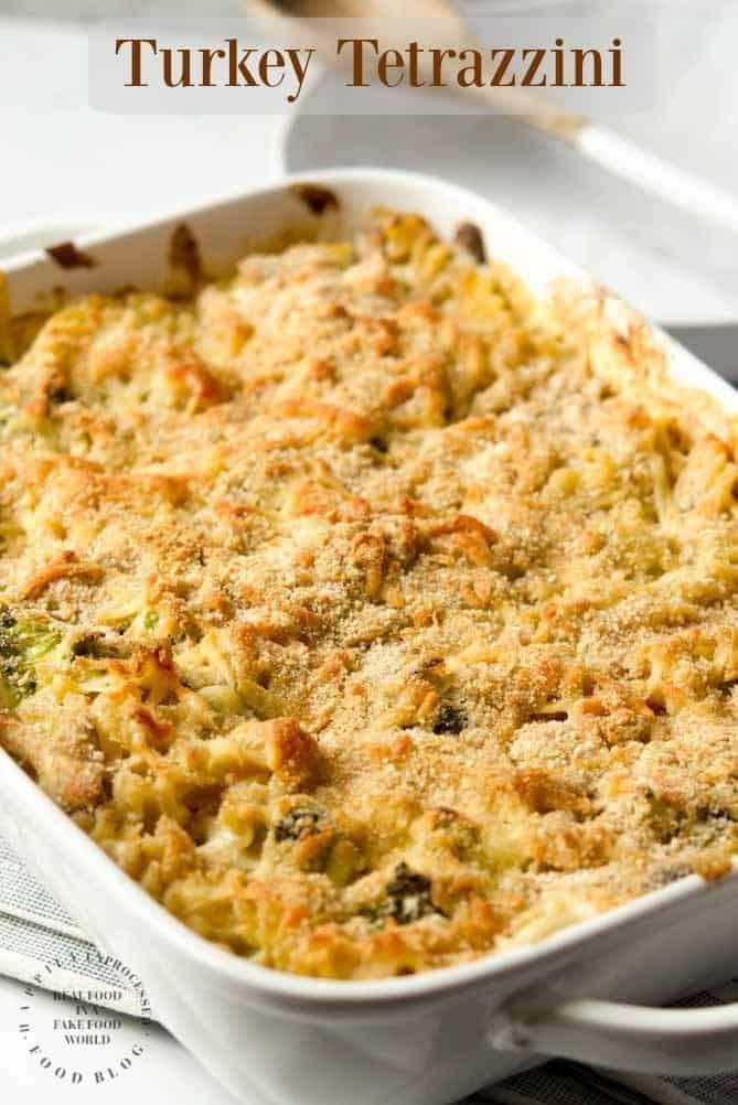 Turkey Tetrazzini With Egg Noodles  Broccoli  Recipe -2012