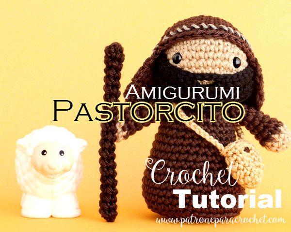 Amigurumis Navidad Paso A Paso : Pastorcito amigurumi para el pesebre paso a paso amigurumi