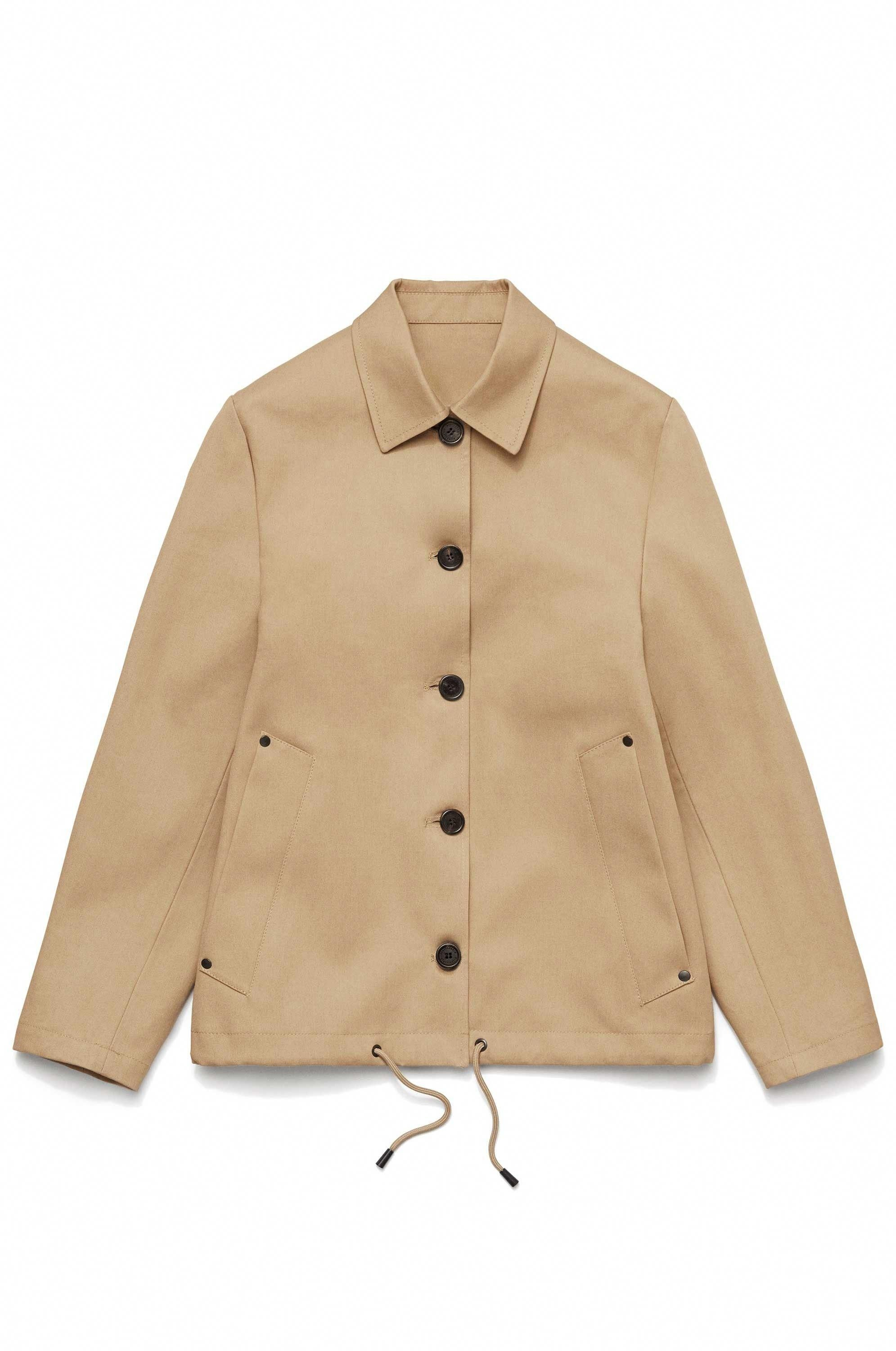 947399dd7 The Blåsut Sand women's coach jacket is handmade in exclusively ...