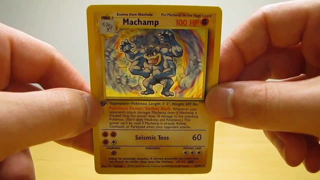 How much are base set pokemon cards worth old toys