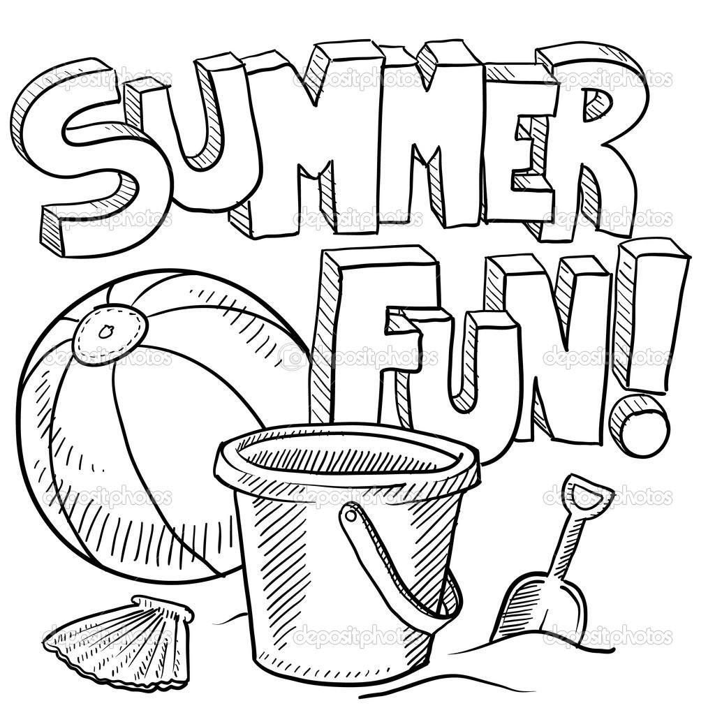 42 Free Printable Colouring Pages Summer In 2020 Summer Coloring Sheets Beach Coloring Pages Summer Coloring Pages