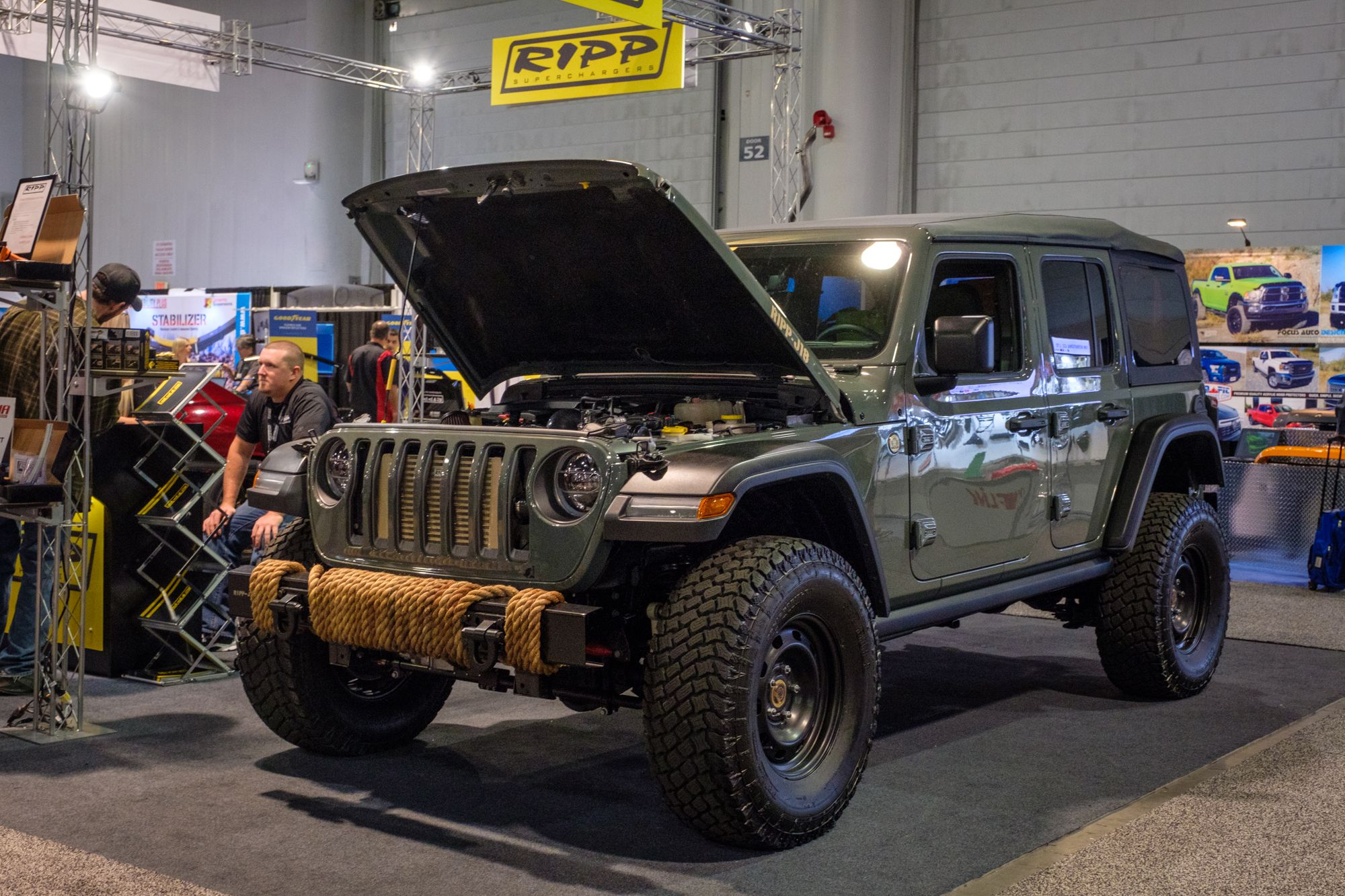 SEMA 2018 Expedition Portal Expedition vehicle, Jeep