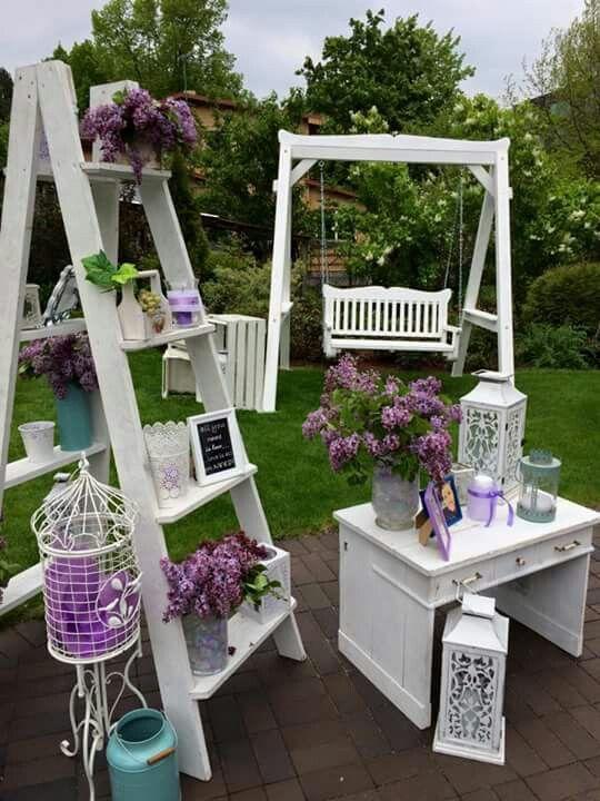 Linda milne bodas vintage pinterest bar wedding and for Escaleras de madera sencillas