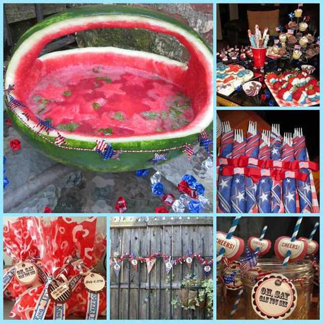 The Sequin Notebook Party Planner Star Spangled Barbecue