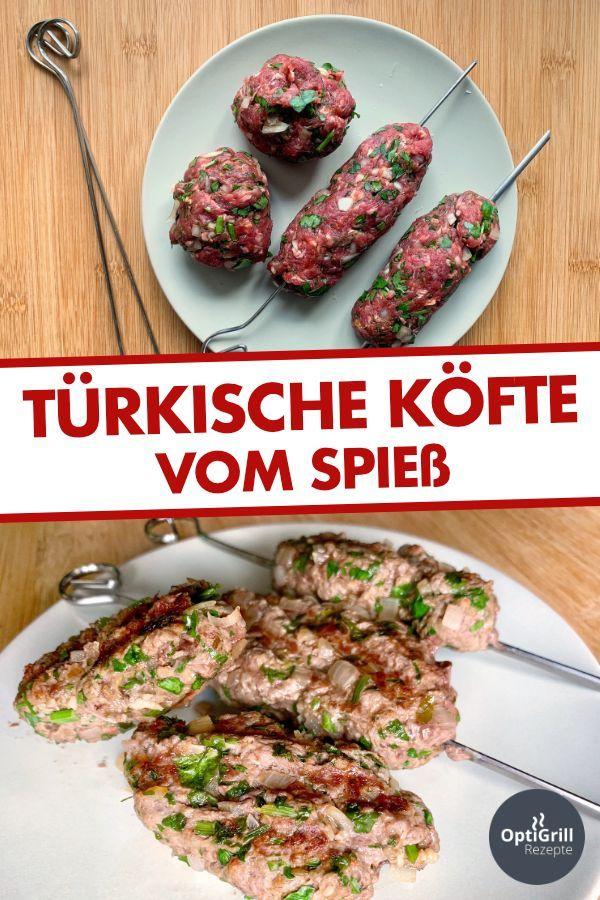 Photo of Köfte-Spieße vom Kontaktgrill – OptiGrill Rezepte