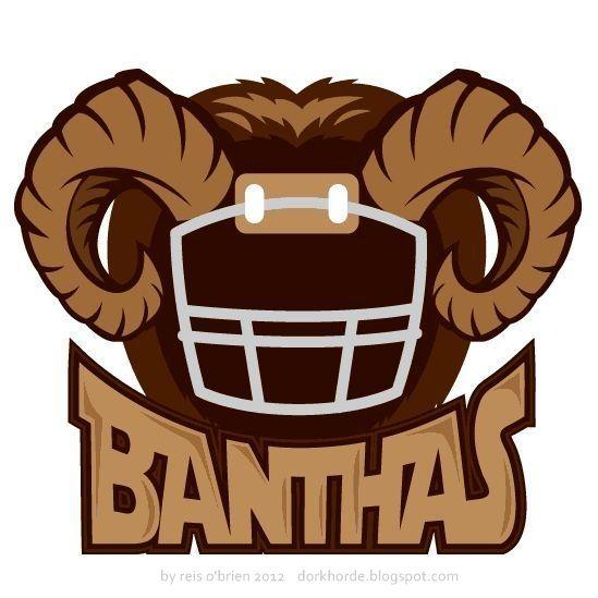 Logo for my fantasy football team, The Tatooine Banthas.