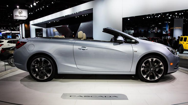 2016 Cascada Convertible Is Buick S Latest Change Agent Buick