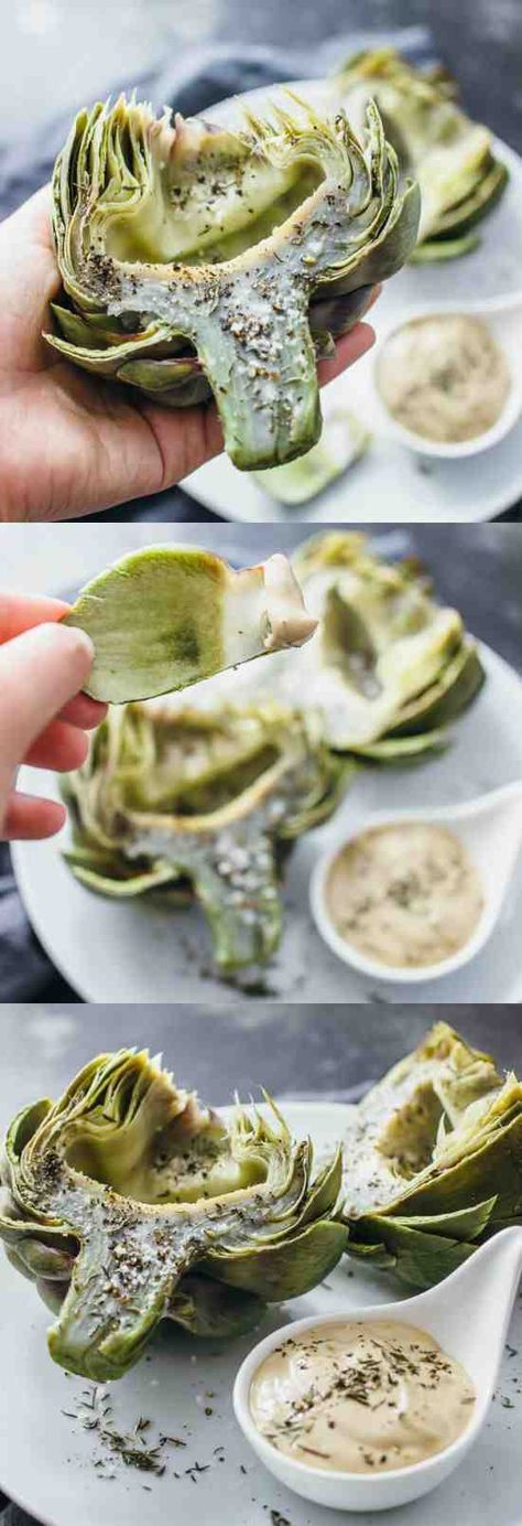 HOW TO COOK ARTICHOKES PERFECTLY EACH TIME - artichokes, black pepper, healthy, mayonnaise, recipes, vegetable