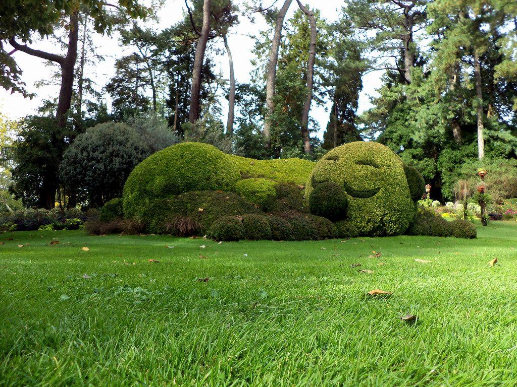Jardin des Plantes de Nantes, le Dormanron de Claude Ponti | Street ...