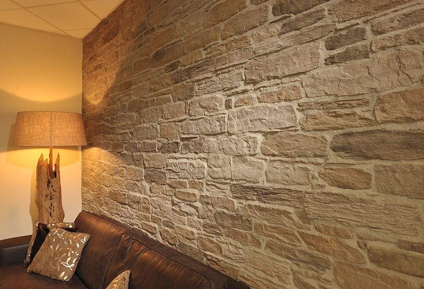 Plaqueta Con Acabado En Piedra Natural Interrock Ref 15163323 Leroy Merlin Paredes De Ladrillo De Imitacion Diseno Exterior De Casa Piedras Naturales